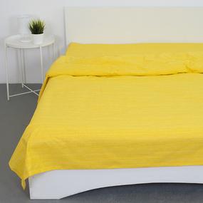 Пододеяльник из перкаля 2049311 Эко 11 желтый, 2-x спальный фото