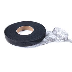 Паутинка Idealtex ширина 15 мм (100 м) 23 г/м2 цвет черный фото