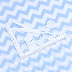 Маломеры бязь плательная 150 см 1692/3 цвет голубой 11 м фото