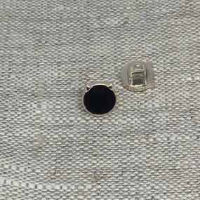 Пуговица ПР185 10 мм черная уп 12 шт фото