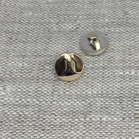 Пуговица ПР193 11 мм золото уп 12 шт фото