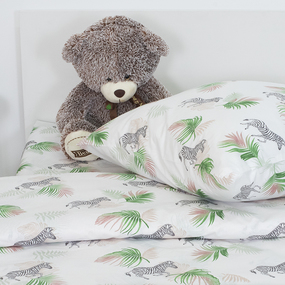 Детское постельное белье 13103/1 Тропическое лето 1.5 сп перкаль фото