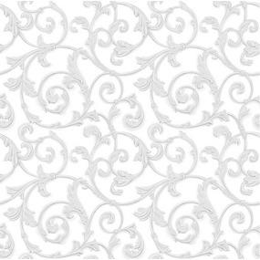 Ткань на отрез Тик 80 см 170 гр/м2 5561-3 Вензель фото