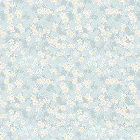 Ткань на отрез Тик 80 см 170 гр/м2 5493-1 Мируар фото