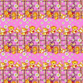 Бязь 120 гр/м2 детская 150 см 0837/3 цвет розовый фото