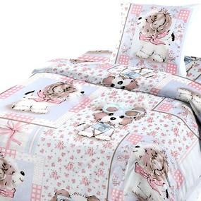 Детское постельное белье из бязи Шуя 1.5 сп 90592 ГОСТ фото