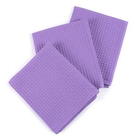 Набор вафельных полотенец Премиум 3 шт 45/70 см 622 сирень фото
