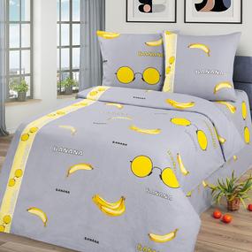 Бязь 120 гр/м2 детская 150 см Бананы 12128/1 фото