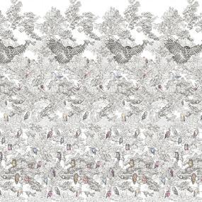 Перкаль 220 см набивной арт 239 Тейково рис 6657 вид 1 Трансильвания фото