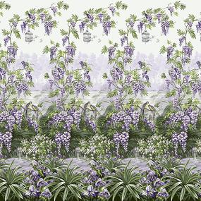 Перкаль 220 см набивной арт 239 Тейково рис 6629 вид 1 Итальянский сад фото