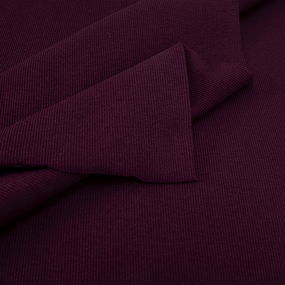 Ткань на отрез кашкорсе с лайкрой цвет темно-бордовый фото