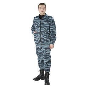 Костюм Охранник КМФ цвет синий 44-46 рост 172-176 фото