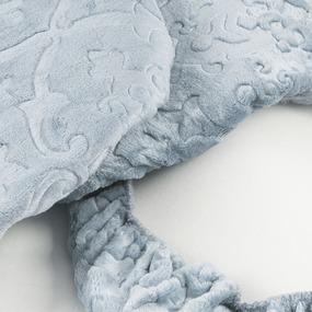 Чехол на табурет велсофт Moreska 007-ОРМ размер 35/35 см фото