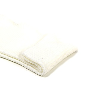 Подвяз 8х70 см 100% ПАН арт.ПРЦ-32/2 рапорт 2х2 плетение ластик цв. 501/5 супер.белый фото