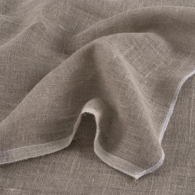 Ткань на отрез мешковина джут/лен 196 гр/м2 1.4/1.9 м фото