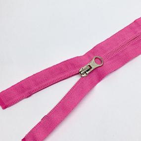 Молния спираль №5 реверс 50см №515 розовый фото