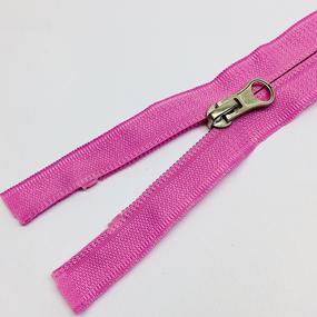 Молния спираль №5 реверс 55см №042 нежно розовый фото