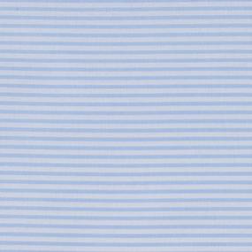 Мерный лоскут бязь плательная 150 см 8084 Полоса цвет голубой фото