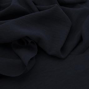 Ткань на отрез манго 154 см цвет темно-синий фото