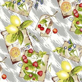 Ткань на отрез вафельное полотно 45 см 144 гр/м2 0958/1 цвет серый фото
