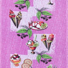 Ткань на отрез вафельное полотно 45 см 144 гр/м2 1305/2 цвет розовый фото