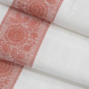 Ткань на отрез полулен полотенечный 50 см Жаккард 1/701/3 сорт 1 111395 фото