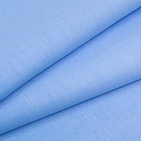 Ткань на отрез бязь ГОСТ Шуя 220 см 12410 цвет голубой 1 фото