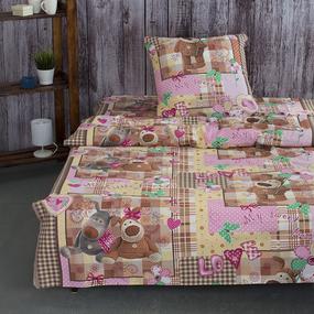 Детское постельное белье из бязи 1.5 сп 10842/1 Дружок фото