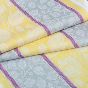 Ткань на отрез полулен полотенечный 50 см Жаккард 1/136/108 фото