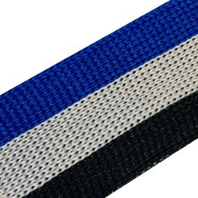 Лампасы №75 черный серый синий 2.5 см 1 метр фото