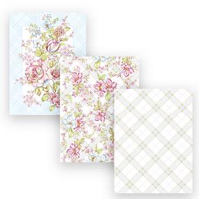 Набор вафельных полотенец 3 шт 45/60 см 29014/1 Весенний букет фото