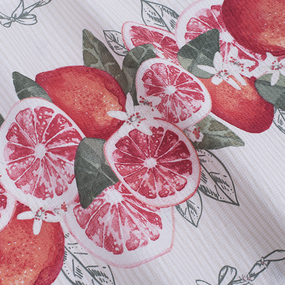 Полотенце вафельное 50/80 см 5399/1 Грейпфрут фото