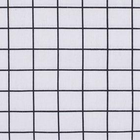Ткань на отрез лен TBY-DJ-24 Клетка цвет бежевый фото