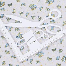 Ткань на отрез лен TBY-DJ-25 Полянка фото