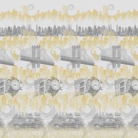 Перкаль 220 см набивной арт 239 Тейково рис 6914 вид 1 Инспектор фото