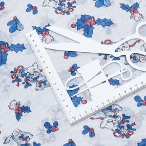 Ткань на отрез ситец белоземельный 80 см 8854 фото