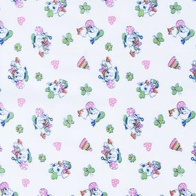 Ткань на отрез ситец белоземельный 80 см 9309 фото