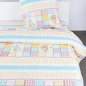Детское постельное белье из бязи Шуя 1.5 сп 90251 ГОСТ фото
