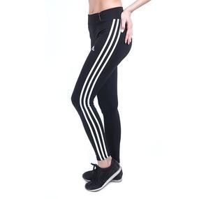 Женские спортивные легинсы 203 цвет черный размер М (42-44) фото