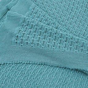 Покрывало-плед Паучок 150/200 цвет зеленый фото