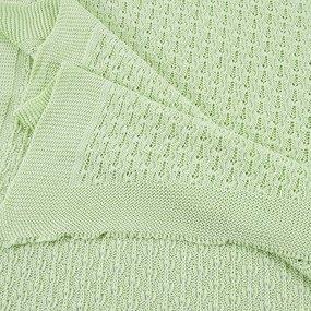 Покрывало-плед Паучок 150/200 цвет салатовый фото