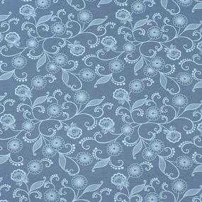 Ткань на отрез кулирка 2220-V2 цвет морская волна фото