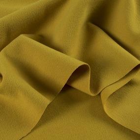 Ткань на отрез кашемир О-2 цвет горчичный фото