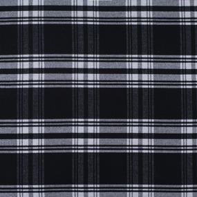 Ткань на отрез кашемир К-5 Клетка цвет черный фото