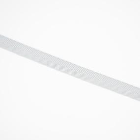 Тесьма киперная 10 мм хлопок 1,8г/см арт.08с-3495 цв.св.серый 040 фото