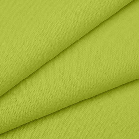 Мерный лоскут бязь ГОСТ Шуя 150 см 15800 цвет зеленый лайм 2.4 м фото