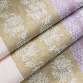 Ткань на отрез полулен полотенечный 50 см Жаккард 1/509/26 сорт 1 601167 фото