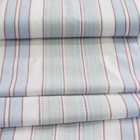 Ткань на отрез полулен полотенечный 50 см Полоса 11 сорт 1 113358 фото