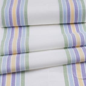 Ткань на отрез полулен полотенечный 50 см Полоса 45 сорт 1 113358 фото