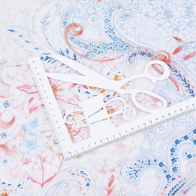 Бязь Премиум 150 см набивная Тейково рис 13076 вид 1 Лаура фото
